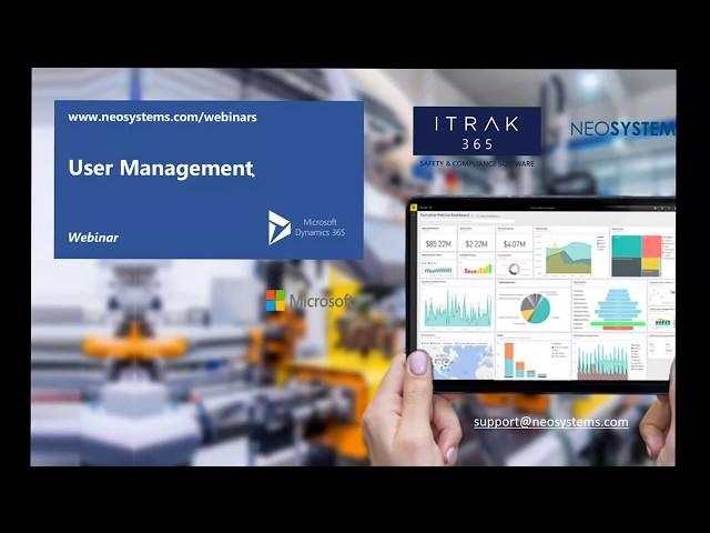 ITRAK User Management: Learn the Basics