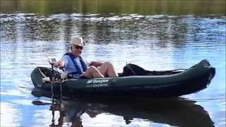 Motorizing a Sevylor Colorado Inflatable Canoe