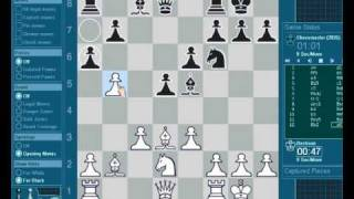 Bastiaan versus chessmaster 10th edition (live)