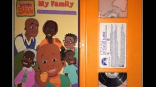 Opening to Little Bill-Me and My Family 2001 VHS