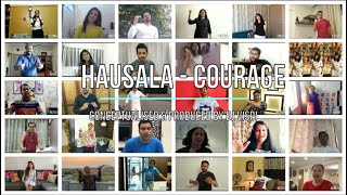 Hausala - Courage | Fight Against Corona | St. Ursula High School | DJ Vispi