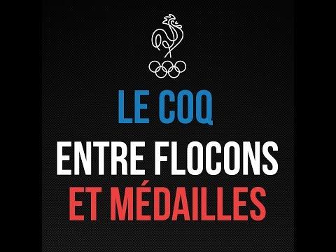 LE COQ ENTRE FLOCONS ET MÉDAILLES : Teaser Les 100 Histoires de Légende du Sport Français
