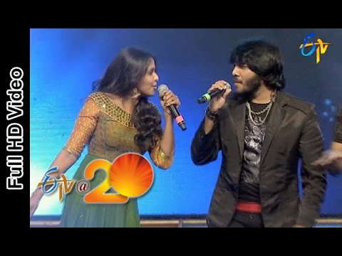 Smitha & Noel Sean Performance -Baha Kiliki Song In Viajaywada ETV @ 20 Celebrations