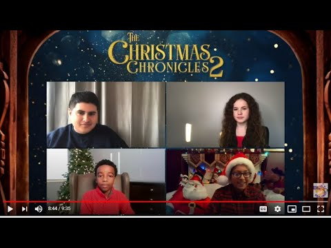 Download Ethan P. interviews Jahzir Bruno, Darby Camp and Julian Dennison (The Christmas Chronicles 2)