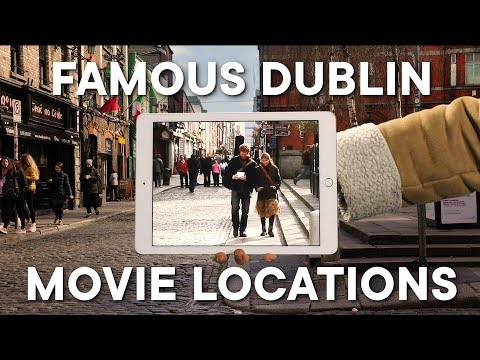 Famous Dublin Movie Locations Lined Up With The Original Scene