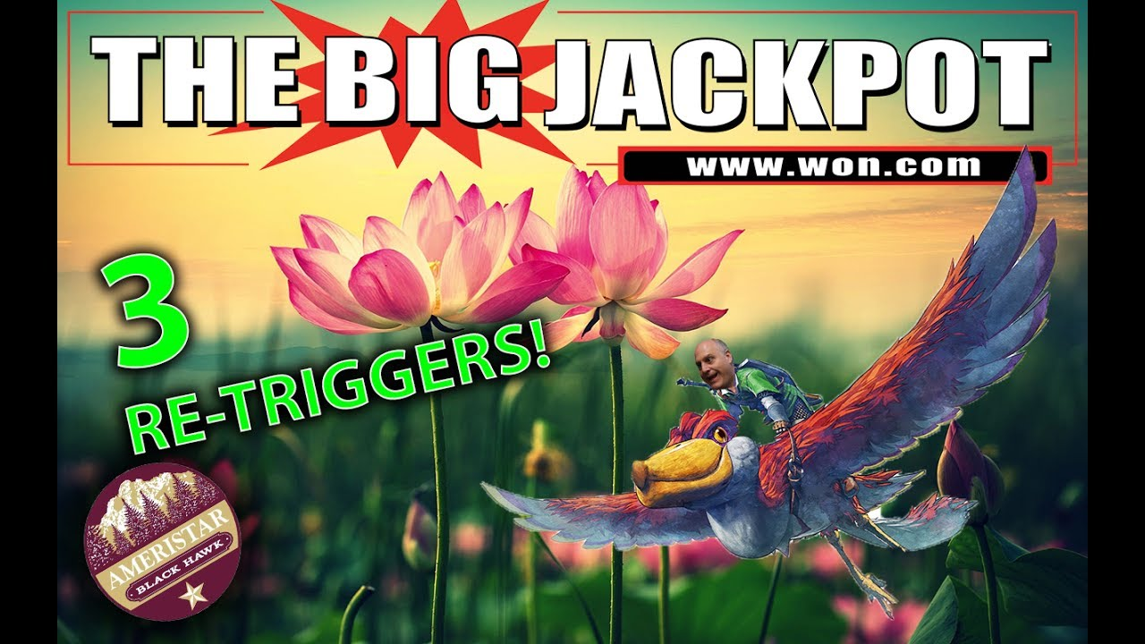 The Raja Wins Big After 3 Re Triggers On Lotus Flower Youtube