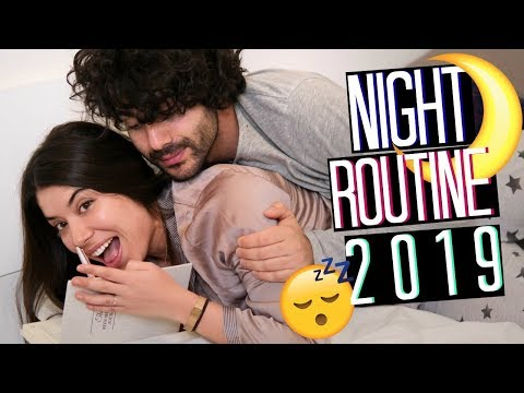 My REAL NIGHT ROUTINE 2019 😴❤️NIGHT ROUTINE DI COPPIA | Adriana Spink