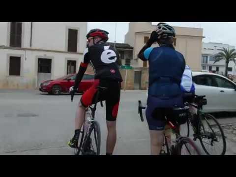MTBO Team Finland training camp, Mallorca -18