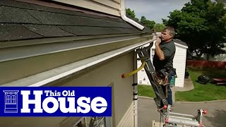 How to Repair a Gutter - This Old House