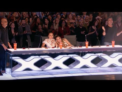 Demian Risks His Life Performing The Most Dangerous Act | Week 1 | AGT 2017