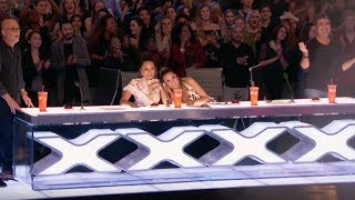 Demian Risks His Life Performing The Most Dangerous Act   Week 1   AGT 2017