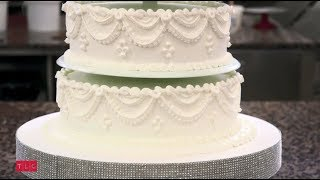Торт для семейного юбилея 60 лет - бриллиантовая свадьба - Король кондитеров: сезон 9