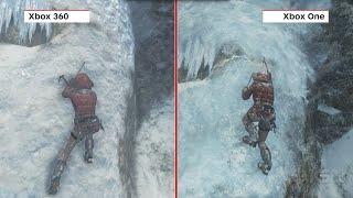 Rise Of The Tomb Raider Graphics Comparison Xbox One Vs Xbox 360
