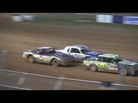 IMCA Stock Car feature Independence Motor Speedway 6/16/18