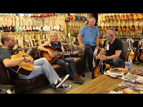 Facebook LIVE with Frank Stallone & Frankie Sullivan at Norman's Rare Guitars
