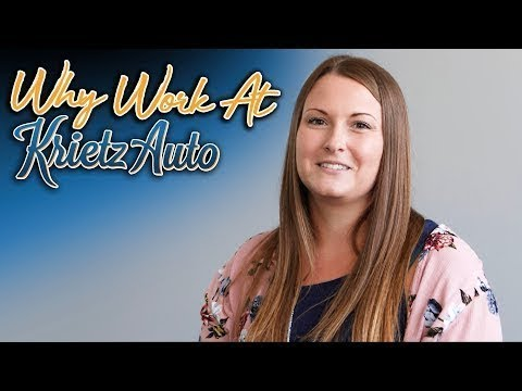 Why Work At Krietz Auto-Bridget