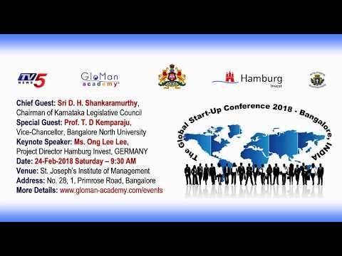 Global Start-Up Conference 2018 - Bangalore