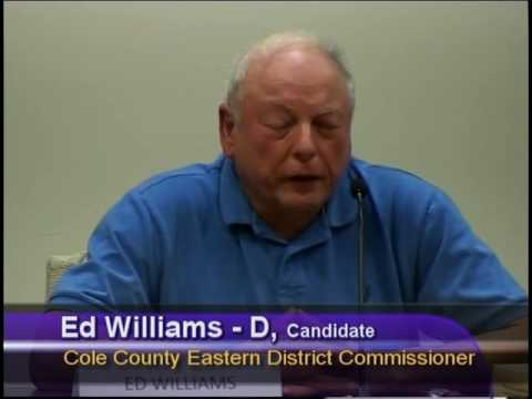Jefferson City News Tribune Candidate  Forum  for Cole County Eastern District Commissioner