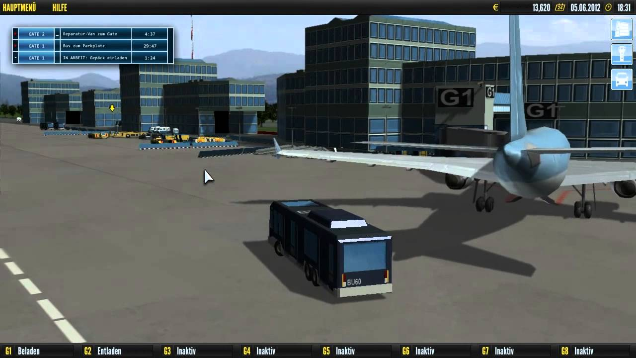 abo special 333 airport simulator 4 youtube. Black Bedroom Furniture Sets. Home Design Ideas