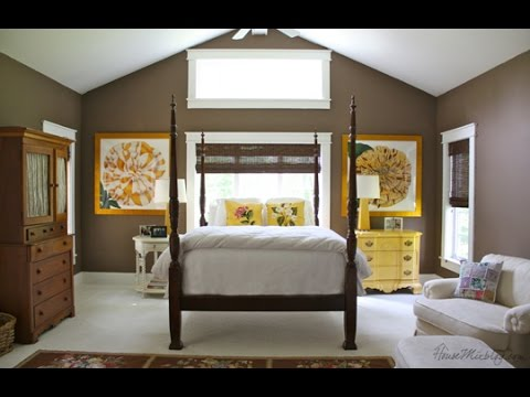 Beautiful Chocolate Brown Walls Bedroom