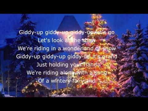 Sleigh Ride Lyrics - YouTube