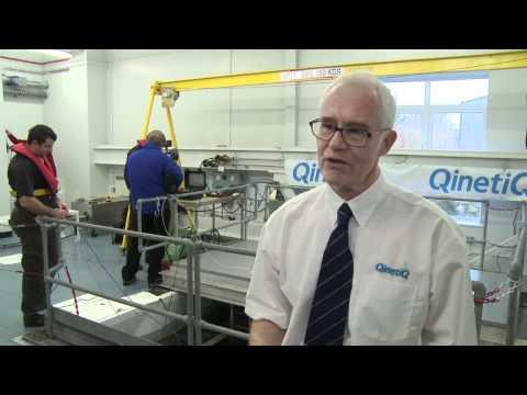 QinetiQ Diving & Hyperbaric Test Centre opening
