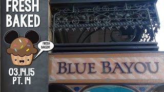 Lunch at the Blue Bayou and Pirates ride through | 03-14-15 Pt. 14