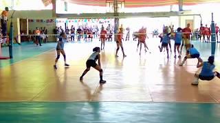 Palarong Pambansa 2018 Secondary Volleyball Girls Calabarzon vs Western Visayas