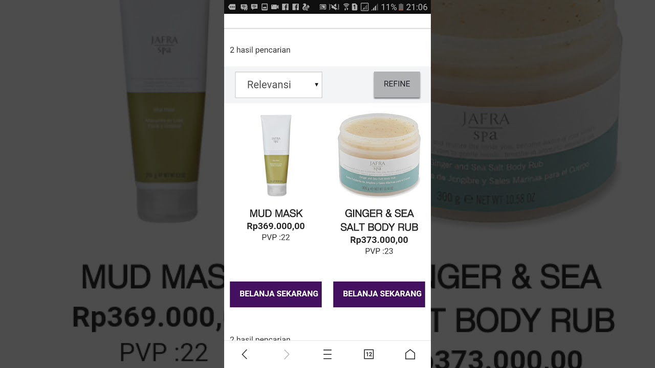 Cara Order Online Jafra Cosmetics Indonesia Pakai Hp Youtube Ginger And Sea Salt Body Rub
