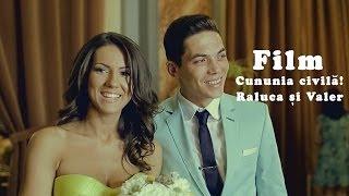 Filmare nunta Raluca si Valer Majina - Cununia civila Craiova starea civila