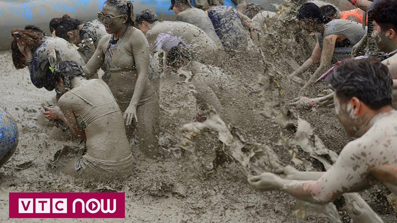 Độc đáo lễ hội tắm bùn Hàn Quốc | VTC1