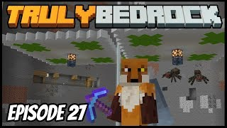 Double Spawners And Slime Farming! - Truly Bedrock (Minecraft Survival Let's Play) Episode 27