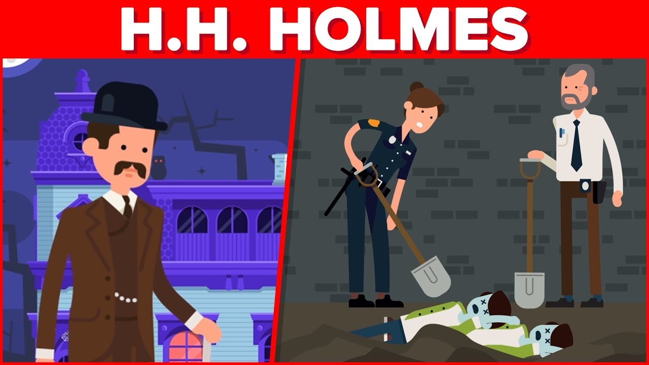 H  H  Holmes - The Most Horrific Serial Killer in US History?