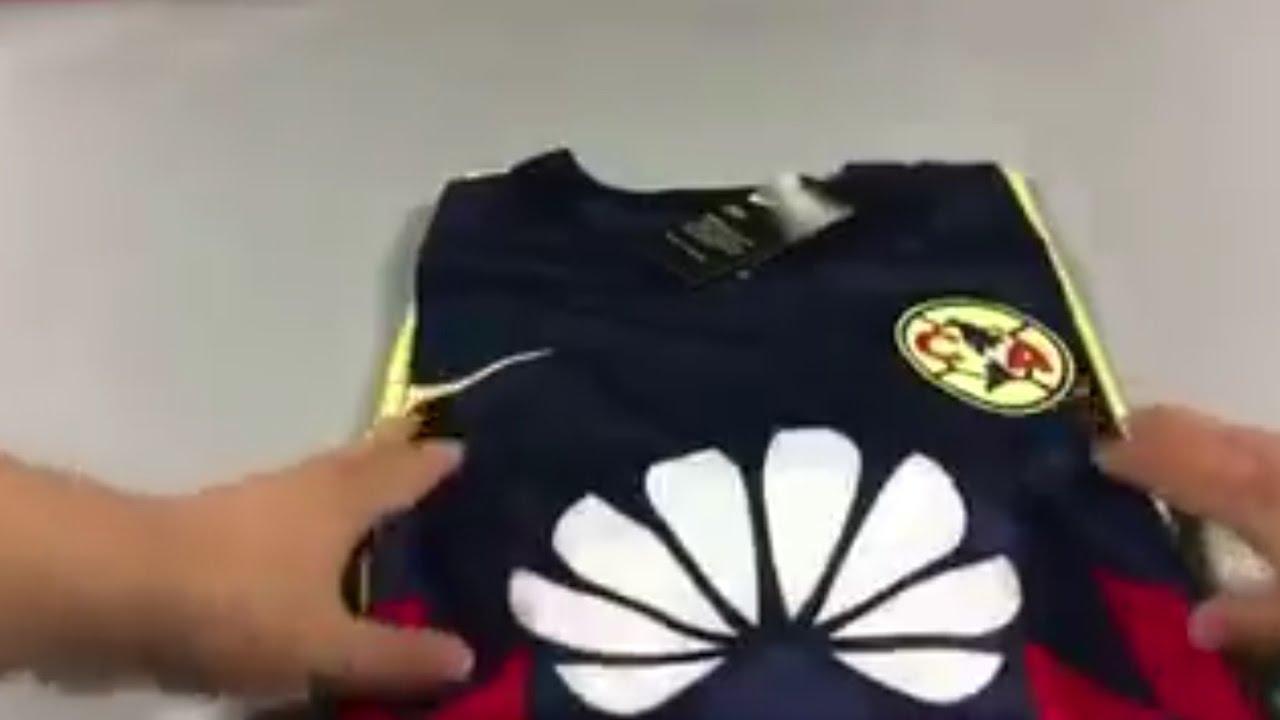 Filtran el nuevo uniforme del am rica 2017 18 youtube for Cuarto uniforme del america