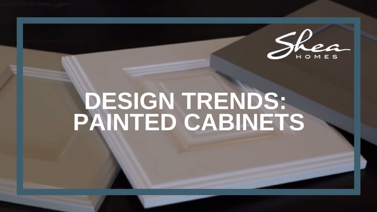 Shea homes design studio painted cabinets trend youtube for Shea homes design studio
