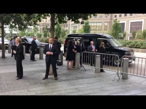 Hillary Clinton Abruptly Leaves 9/11 Memorial Ceremony,  Fainted on Way to Van