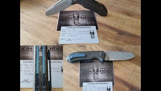 "Ekim Knives  ""The Agitator"" #2 Full Overview"