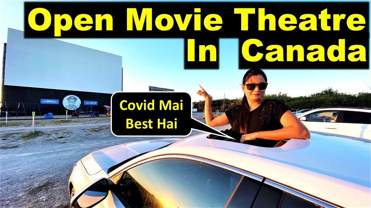 Open Movie Theatre In Canada 😲 | Canada Couple Vlogs