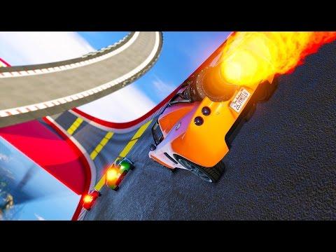 INSANE NEW GTA 5 ONLINE DLC! ROCKET CARS IN RACES!? (GTA 5 DLC UPDATE)