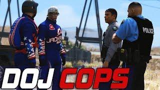 Dept. of Justice Cops #723 - If He Jumps, I Jump