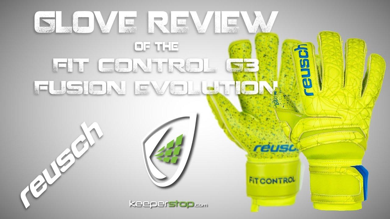 e4f648614cf New Reusch Fit Control G3 Fusion Evolution Goalkeeper Glove Review ...