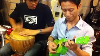 Music Malaysia - Sabah Folk Song on President Ukulele