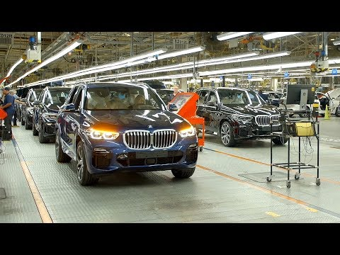 2019 BMW X5 Production in Spartanburg, South Carolina