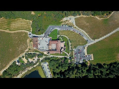 NAPA VALLEY, CALIFORNIA [4K] AERIAL DRONE FOOTAGE