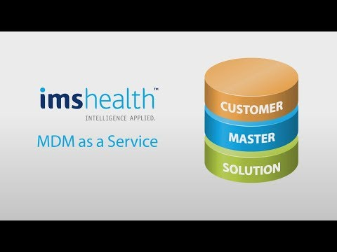 IMS Health Master Data Management as a Service