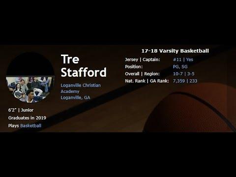6'2 | Tre Stafford | Loganville Christian Academy | Hoop Mixtape