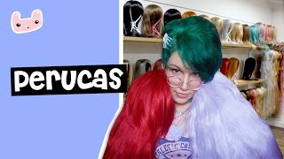 Olá, humanos! Neste vídeo mostro pra vocês algumas coisas que sei sobre perucas. Aproveito para mostrar minha pequena coleção. Hehe. Ah, eu não pude ...
