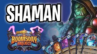 SHAMAN Card Review | The Boomsday Project | Hearthstone