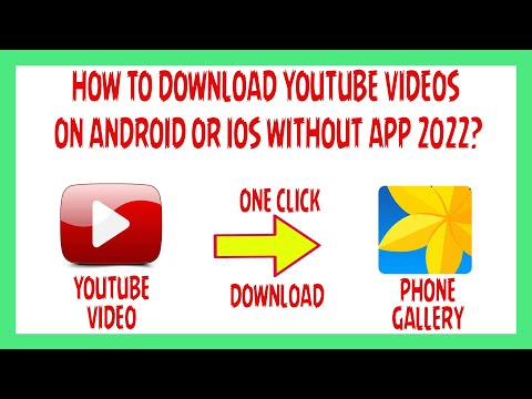 How To Download YouTube Videos On Android Or IOS Without App? 2020