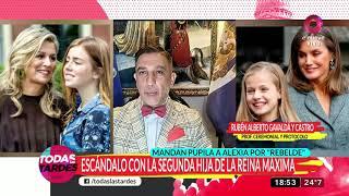 Escándalo con la segunda hija de la reina Máxima Zorreguieta
